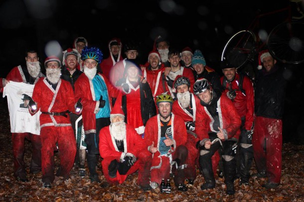 The Soggy Santas - Photo: John Horscroft
