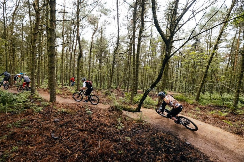 Lady Cannings new mountain bike trail for Sheffield