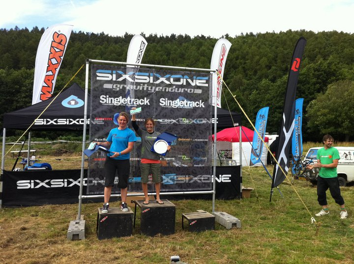 Carrie Poole Clinches the UK Gravity Enduro Series