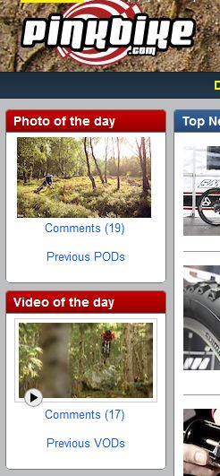 TIS Rules Pinkbike. 6th POD and VOD on the same day.